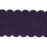 Tresse 30mm violet
