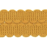 Tresse 30mm moutarde