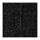 Percale coton thermo.(90cm ou 112cm)noir