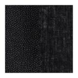 Toile coton grattée thermo.90cm noir
