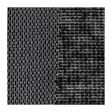 Toile lainée thermo.lourde 90cm noir