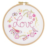 Love love love - kit à broder - 215