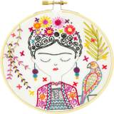 Jolie Frida - kit broderie - 215