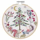 Noël en forêt - kit à broder - 215