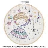 Kit à broder quand Salomé allume les étoiles - 215