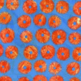 Tissu Kaffe Fassett saw circles-orange - 22
