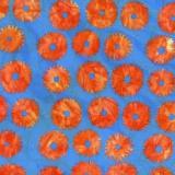 Tissu Kaffe Fassett saw circles-orange - 22