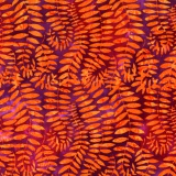 Tissu Kaffe Fassett fronds-grape - 22