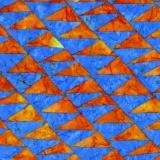 Tissu Kaffe Fassett flags-blue - 22