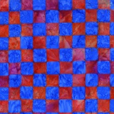 Tissu Kaffe Fassett chess-red - 22