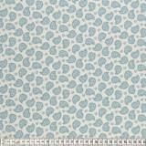 Tissu Mez Fabrics coton mandala paisley blue - 22