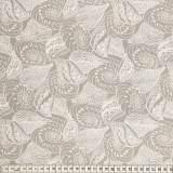 Tissu Mez Fabrics coton shells taupe - 22