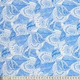 Tissu Mez Fabrics coton shells white - 22