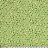 Tissu Mez coton tutti frutti mini leaf green - 22
