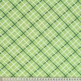 Tissu Mez Fabrics coton tutti frutti check green - 22