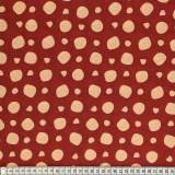Tissu Mez Fabrics coton revebjelle red a&c - 22