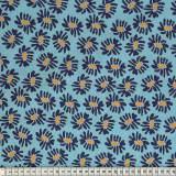 Tissu Mez Fabrics coton solhatt blue a&c - 22