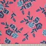 Tissu Mez Fabrics coton nyperoser blue a&c - 22