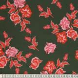 Tissu Mez Fabrics coton nyperoser red a&c - 22