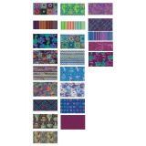 Fat quarter fabric bundle dusk 23 pcs - 22