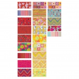 Fat quarter fabric bundle sunrise 23 pcs - 22