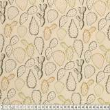 Tissu Mez Fabrics jersey alpaca cactus stone - 22
