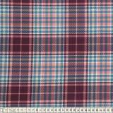 Tissu Mez Fabrics jersey tartan wine - 22