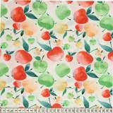Tissu Mez Fabrics enduit tutti frutti apple bright - 22