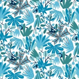 Bungle jungle-tropical-blue David Walkers - 22
