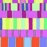 Tissu Kaffe Fassett layered stripe-pink - 22