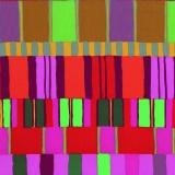 Tissu Kaffe Fassett layered stripe-red - 22