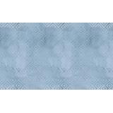 Crisp petals-brshd geomtc-blue Natalie Malan - 22