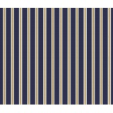 Kelmscott-gilt stripe-navy Morris & Co - 22