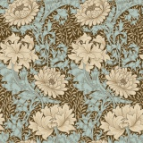 Merton-chrysanthemum-aqua Morris & Co - 22