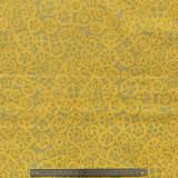 Tissu macaroni mustard - 22