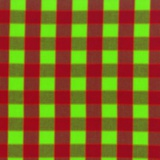 Tissu Kaffe Fassett checkerboard plaid ikat-red - 22
