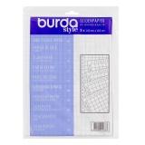 Pochette papier soie quadrillé5 x 140cm x 110 cm - 226