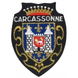 Écusson Carcassonne