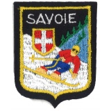 Écusson Savoie gm skieur