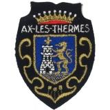 Écusson Ax-les-Thermes