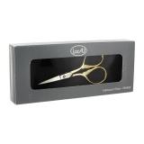 Coffret ciseaux broder prestige 9cm doré - 244