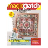 Magazine Magic patch n°5 Les bordures - 254