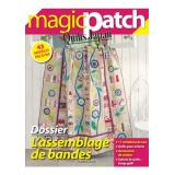 Magazine Magic patch n°6 L'assemblage de bandes - 254