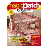 Magazine Magic patch n°7  Quilts rouges - Noël - 254