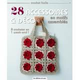 28 accessoires et déco en motifs assemblés - 254