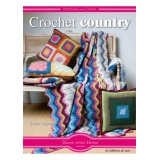Livre Crochet country - 254