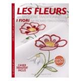 Livre les fleurs en broderie traditionnelle - 254
