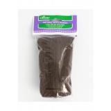 Laine mèche à feutrer chocolat - 256