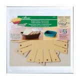 Cadres à panier(carré/grand) - Boîte de 3 sachets - 256