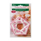 Gabarit p/confection de roses gm - 256